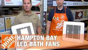 Hampton Bay Led Bath Fans