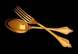 Dessert Fork and Spoon