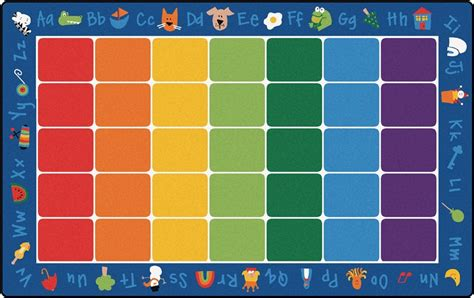 with phonics rug factory second rectangle 8 4 quot x 13 4 414 | CFKFS9614 2