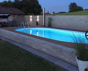 Pool Im Haus Bauen. pool selber bauen garten pool und schwimmteich ...
