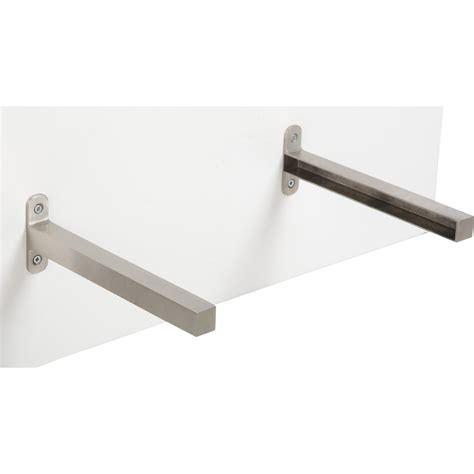 equerre plan de travail cuisine equerre d 39 extrémité aluminium inox l 23 5 x l 2 cm