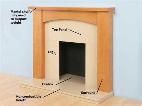 How To Install A Marble Hearth And Wooden Fireplace