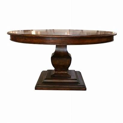 Table Pedestal Round Dining Parquetry Tables European