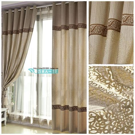 free shipping curtain quality modern style curtain