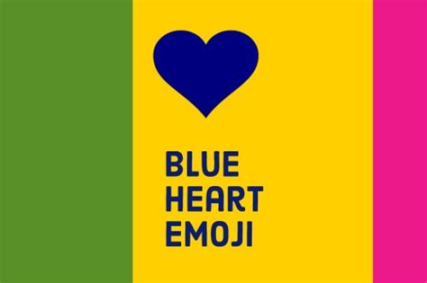 The Real Blue Heart Emoji Meaning