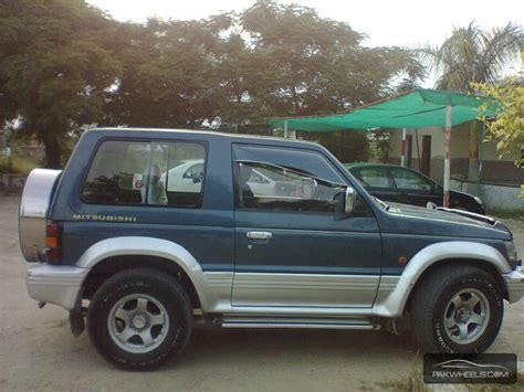 mitsubishi pajero exceed 2 8d 1994 for sale in islamabad pakwheels