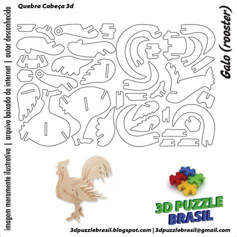dxf plans downloads animals cnc 3d puzzles patterns wooden puzzles
