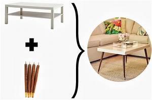Tischbeine Mid Century : lack turned mid century modern coffee table inspiration pinterest tischbeine super und ~ Markanthonyermac.com Haus und Dekorationen