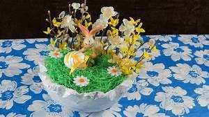 Frühlingsdeko Aus Naturmaterialien Selber Machen : basteln f r ostern fr hlingsdeko selber machen einfach youtube ~ Eleganceandgraceweddings.com Haus und Dekorationen