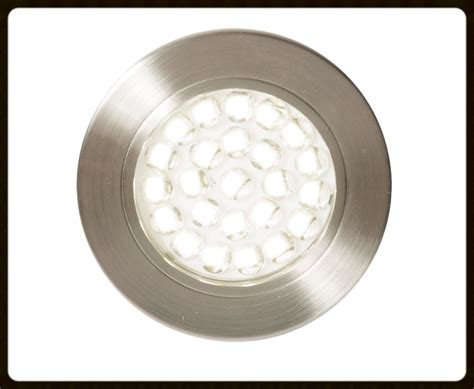 led recessed circular cabinet light 1 5w pack 6 cul 21624
