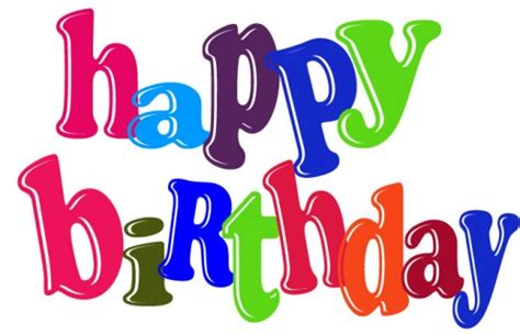 Happy Birthday Clipart Happy Birthday Clip For Clipart Best