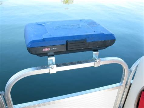 Boat Grill Used by Island Drag Racing Store Arnall S Pontoon