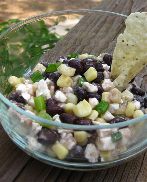 Black Bean Corn and Feta Dip