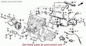 Honda Civic 1989  K  4dr Lx  Ka Kl  Engine Sub Cord