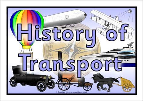 History Of Transport Display Poster (sb10746)