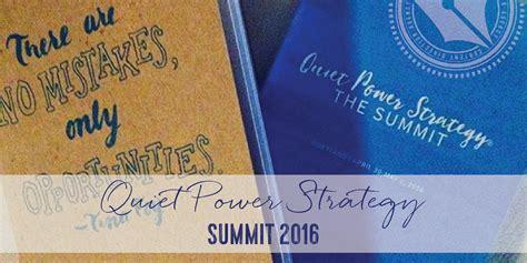 Quiet Power Strategy Summit