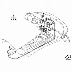 Genuine Bmw Navigation Wiring Harness  61120301701