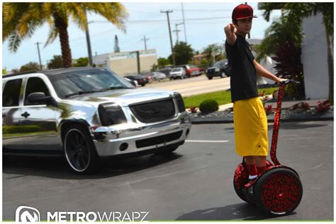 austin mahone  chrome segway collection  match cars