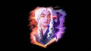 Daenerys Targaryen And Dragon Fan Art, HD Artist, 4k ...
