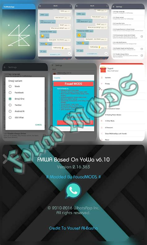 android x legends fmwhatsapp fouad whatsapp v6 10