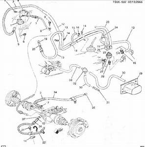 Transfer Case Vacuum Line Route - Blazer Forum