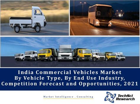 India Commercial Vehicles Market Forecast 2021