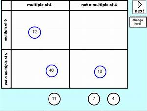 Use Venn Diagrams Or Carroll Diagrams To Sort Data And