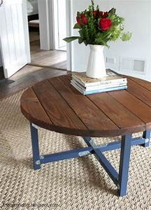 1000 ideas about diy coffee table on pinterest coffee With make a round coffee table