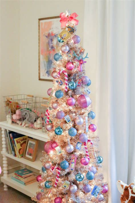 girls colorful christmas tree  southern style