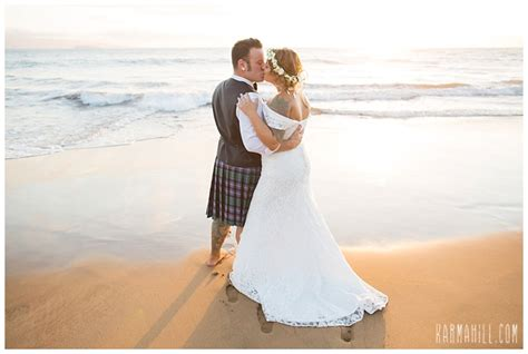 maui wedding michele collin simple