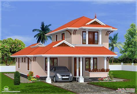 eco friendly houses  sqfeet kerala model villa design