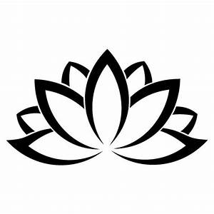 Sacred Indian Lotus Flower Nelumbo Nucifera Vinyl Laptop ...
