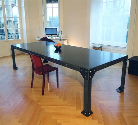 table cuisine style industriel table cuisine style industriel chaise cuisine hauteur