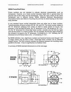 326t Motor Frame Dimensions