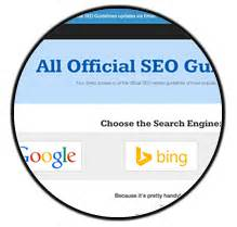 Seo Guidelines - consultora seo internacional aleyda solis