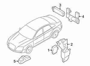 Audi A4 Tire Pressure Monitoring System Antenna  A4