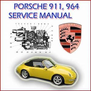 Porsche 911   964 Service    Repair Manual