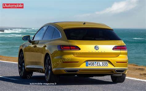 Future Volkswagen Sharan 2020 by Une Version Shooting Brake Pour La Volkswagen Arteon D 232 S