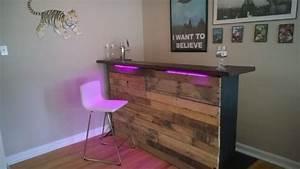Küchenbar Selber Bauen : palettenm bel und led beleuchtung eine perfekte kombination ~ Sanjose-hotels-ca.com Haus und Dekorationen