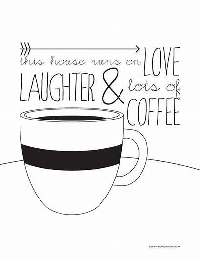 Coffee Quotes Printable Quote National Tea Sayings