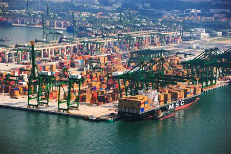 Singapore The 'big Winner' From Container Alliance