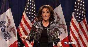 Tina Fey returns to SNL as Palin to mock Trump endorsement ...