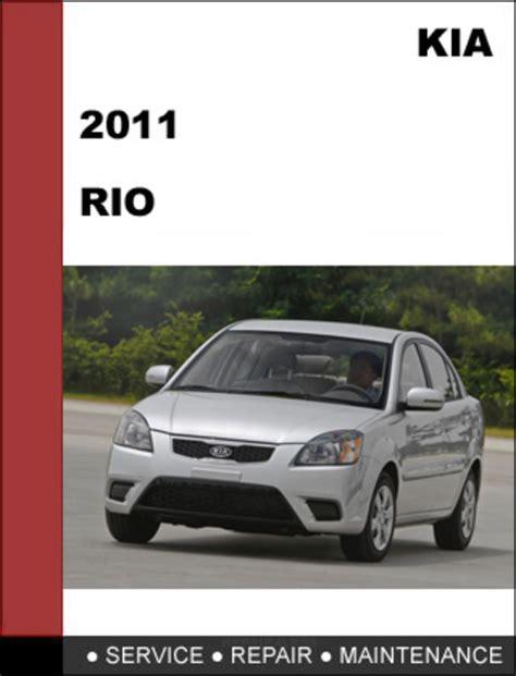 manual repair autos 2011 kia sedona parking system 2011 kia rio factory service repair manual mechanical specifications