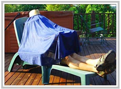 iPhone Savior: Laptop Burka: The First Geek Tent For ...