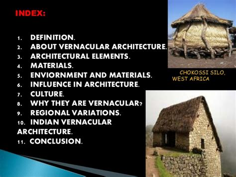 Definition Architecture by Vernacular Architecture