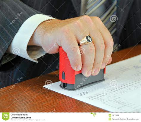 Bureaucrat confirms stock image. Image of occupation ...