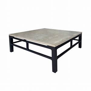 ash grey and black coffee table isabelina With black and grey coffee table