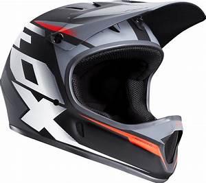 Fox Rampage Mountain Bike Helmet Black White Full Face