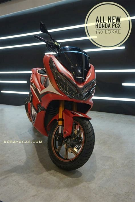 Pcx 2018 Modif by Nih Harga Resmi All New Pcx 150 2018 Indonesia Abs 30 7jt