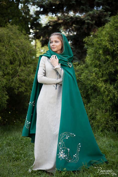 fairy tale woolen cloak medieval renaissance clothing